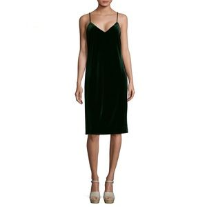 Sanctuary velvet midi slip dress ASOS Zara